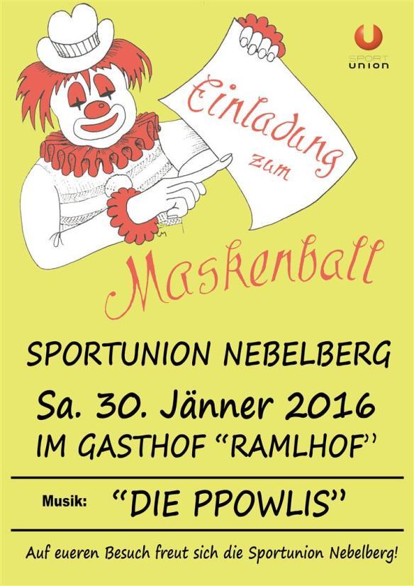 Ball Plakat 2016-gelberHG (Groß)