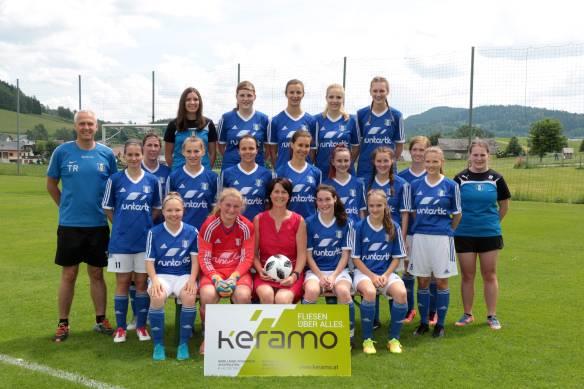 2018-05 Damen Mannschaftsfoto