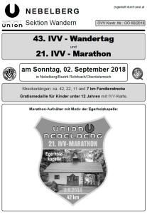 Wandern Union Nebelberg
